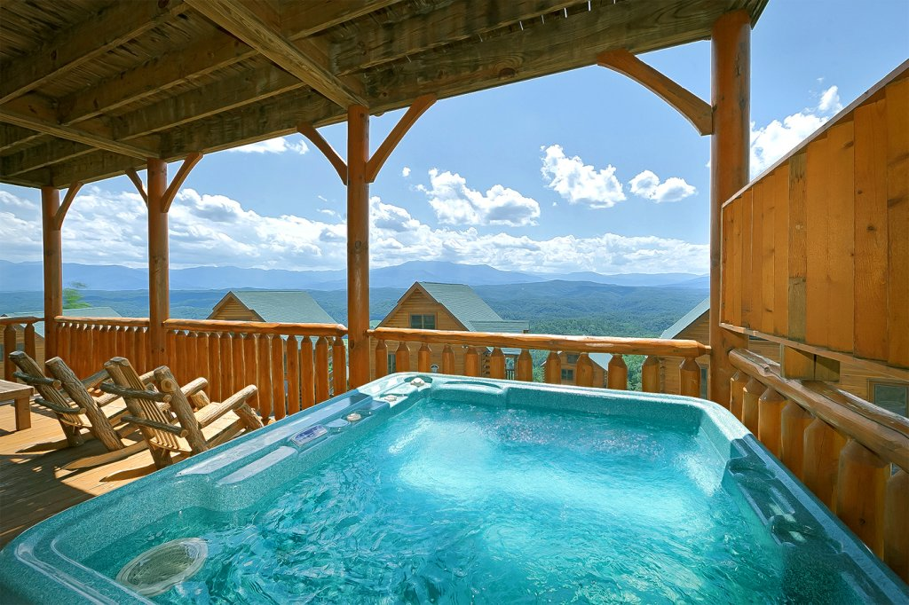 Photo of a Pigeon Forge Cabin named A Glimpse Of Heaven - This is the nineteenth photo in the set.
