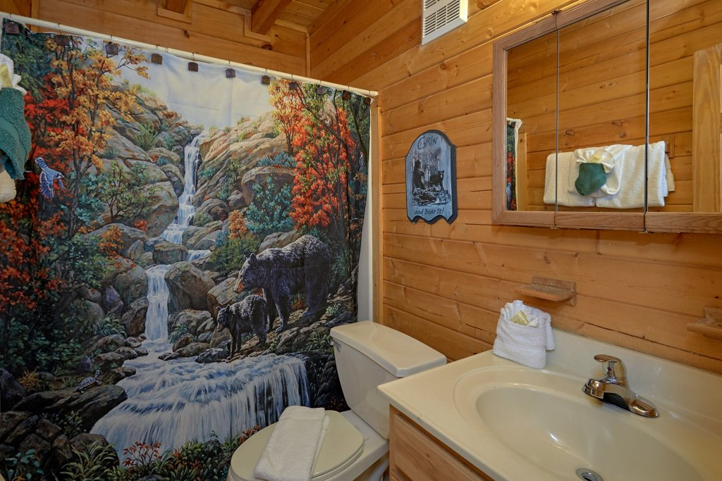 Photo of a Pigeon Forge Cabin named Wet Bear Paws #146 - This is the twenty-fifth photo in the set.