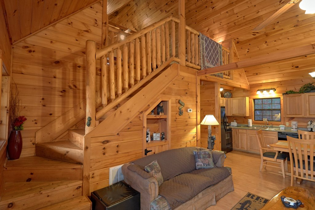 Photo of a Pigeon Forge Cabin named Wet Bear Paws #146 - This is the twenty-second photo in the set.