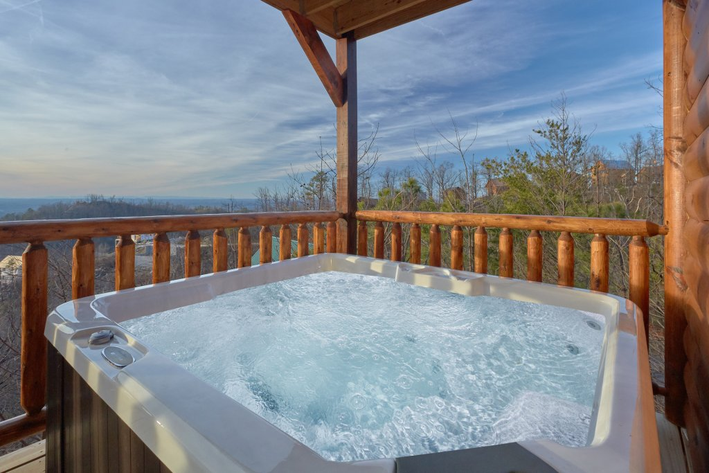 Photo of a Pigeon Forge Cabin named Panoramic Views - This is the fourth photo in the set.