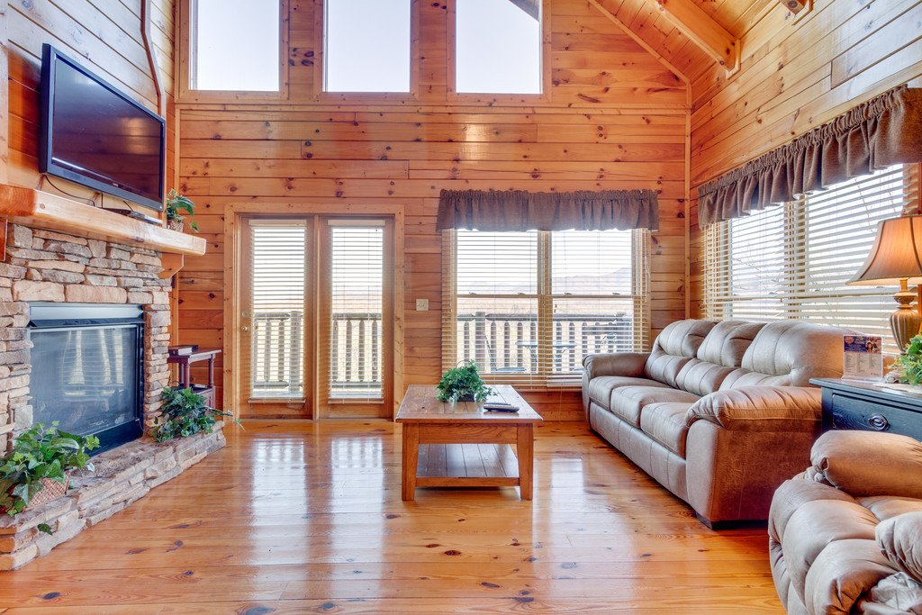 Photo of a Pigeon Forge Cabin named Majestic Horizon - This is the third photo in the set.
