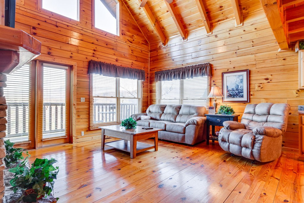 Photo of a Pigeon Forge Cabin named Majestic Horizon - This is the fifth photo in the set.