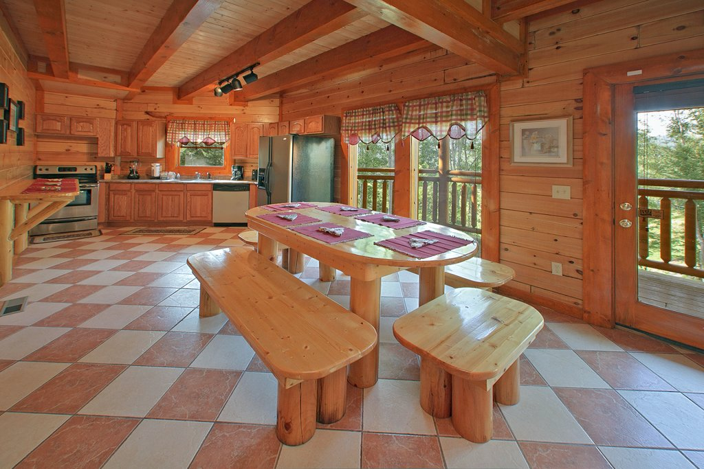 Photo of a Gatlinburg Cabin named Indoor Pool Beauty - This is the seventh photo in the set.