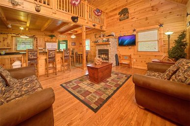 Mountain Dreams, 4 Bedrooms, Pool Access, Game Room, Hot Tub, Sleeps 11