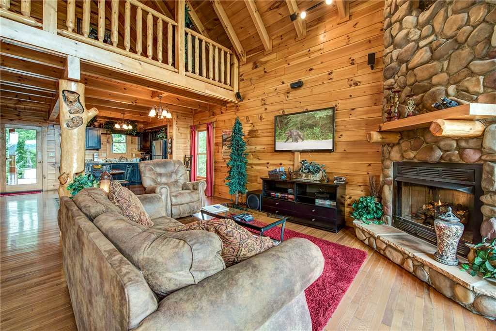Photo of a Pigeon Forge Cabin named Secluded Romance - This is the first photo in the set.
