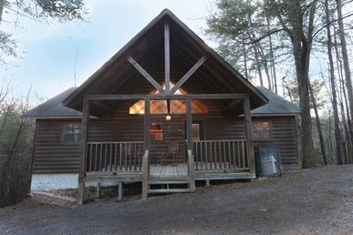 Cabin In Between Gatlinburg And Pigeon Forge Bear Haven