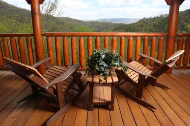 Rustic, Upscale, Luxury, Panoramic View, Hot Tub, Sauna, Game Room, Sleeps 10