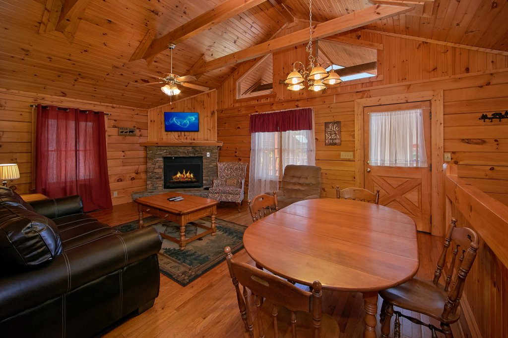 Photo of a Gatlinburg Cabin named Suite Harmony #243 - This is the second photo in the set.