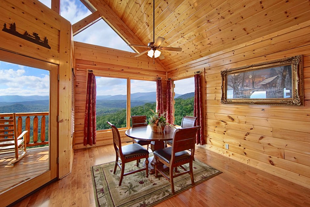 Above the mist 73 cabin in sevierville w 1 br sleeps4 - 1 bedroom cabins in pigeon forge under 100 ...