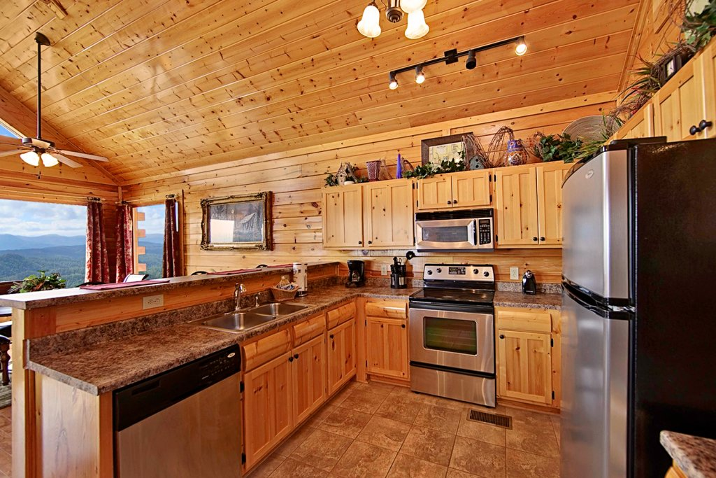 Photo of a Pigeon Forge Cabin named Shooting Star (#73) - This is the eighth photo in the set.