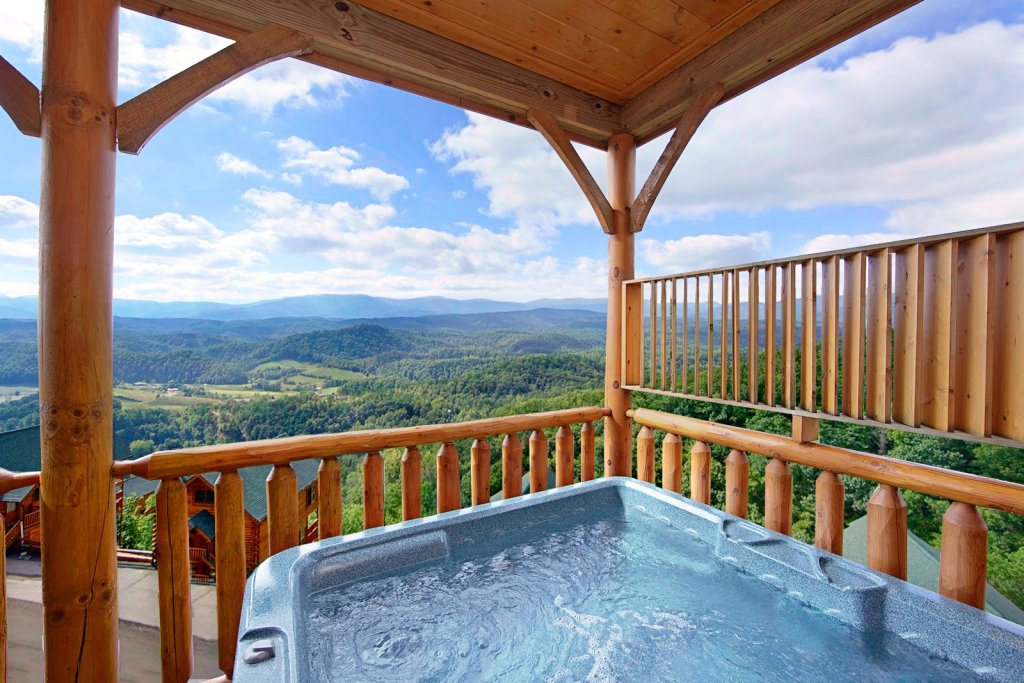 Photo of a Pigeon Forge Cabin named Shooting Star (#73) - This is the second photo in the set.