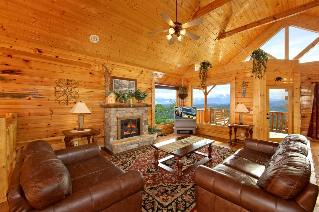 Photo of a Pigeon Forge Cabin named Spectacular Views (#51) - This is the fourth photo in the set.