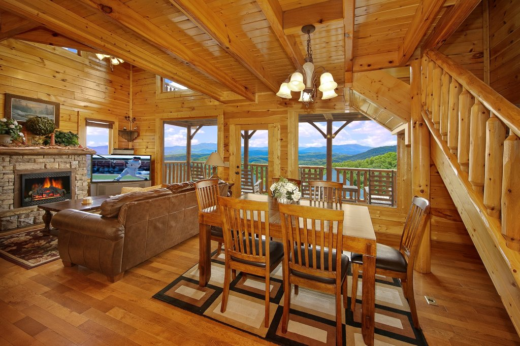 Photo of a Pigeon Forge Cabin named Heavenly Views (#97) - This is the sixth photo in the set.