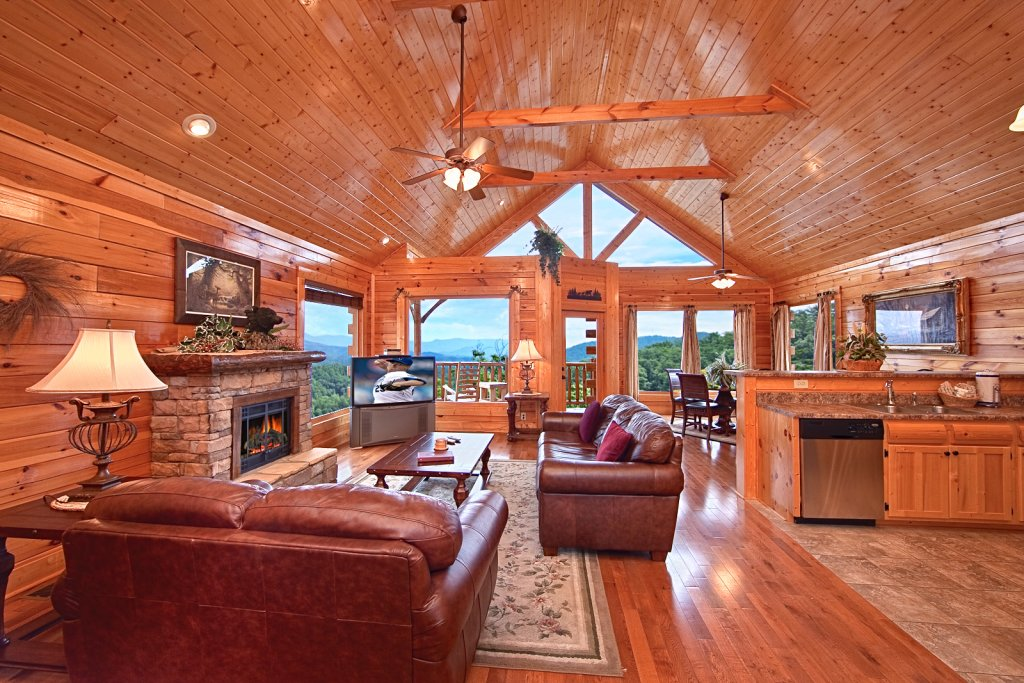 Photo of a Pigeon Forge Cabin named Summit Views (#74) - This is the sixth photo in the set.