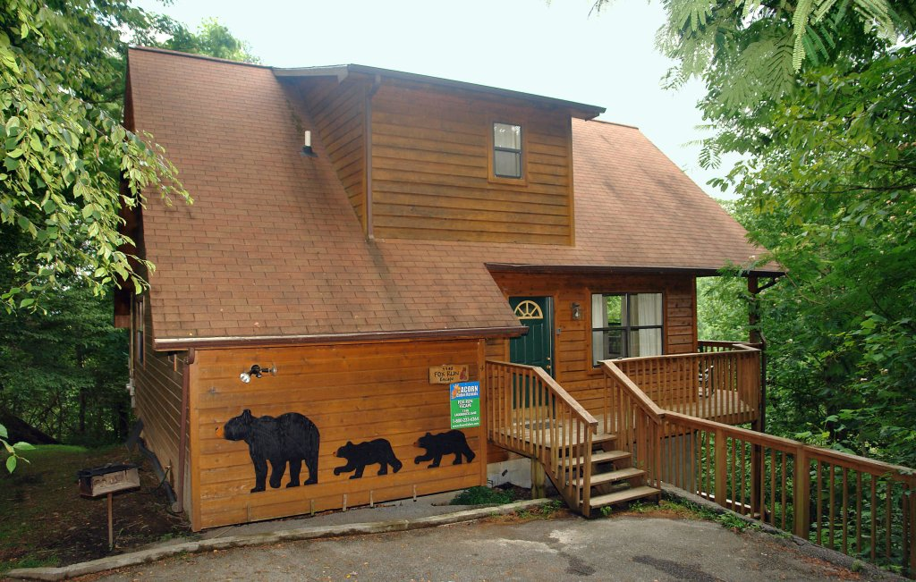 Photo of a Gatlinburg Cabin named Fox Run Escape #1140 - This is the twenty-sixth photo in the set.