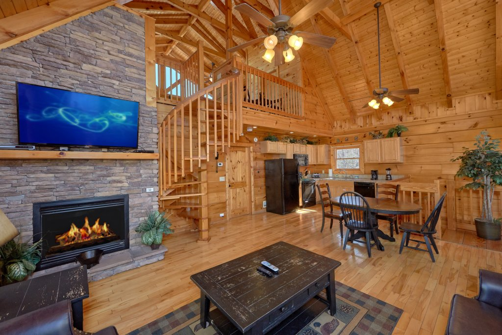 Photo of a Gatlinburg Cabin named Smoky Mountain Serenity - This is the thirty-fourth photo in the set.