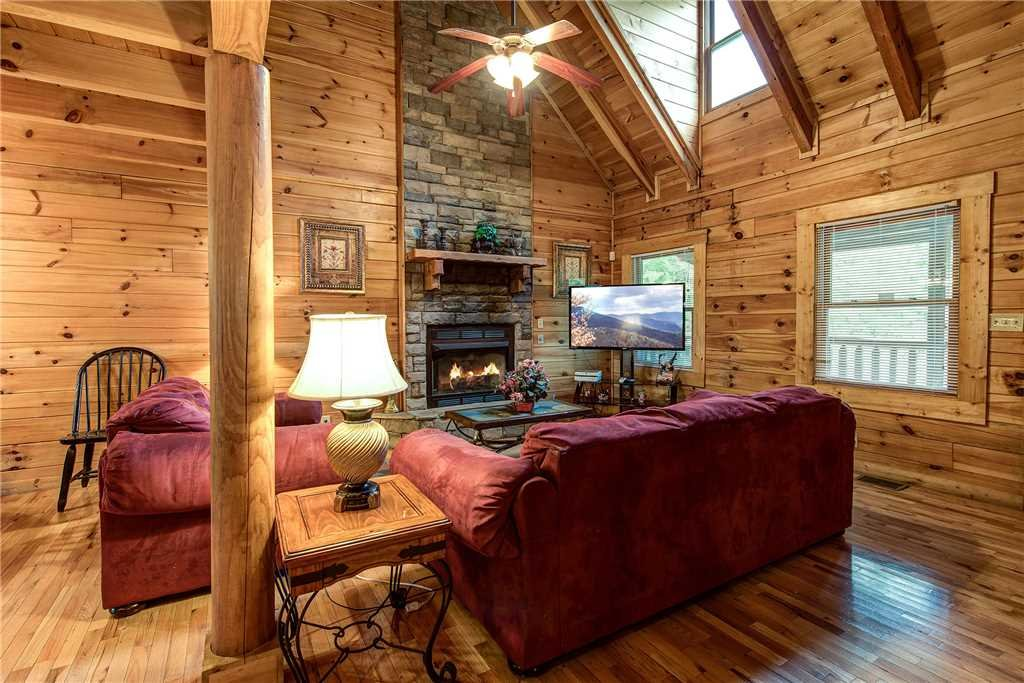 Photo of a Pigeon Forge Cabin named A Desire Fulfilled - This is the first photo in the set.