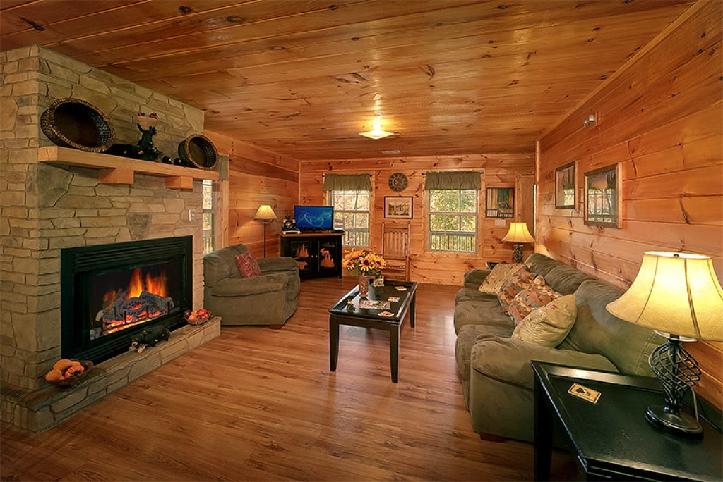 Photo of a Pigeon Forge Cabin named Private Paradise #2810 - This is the fifth photo in the set.