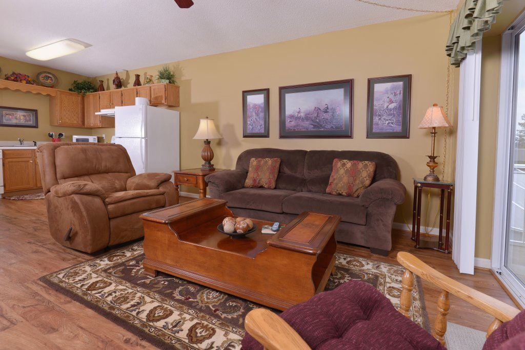 Photo of a Pigeon Forge Condo named Whispering Pines 331 - This is the second photo in the set.