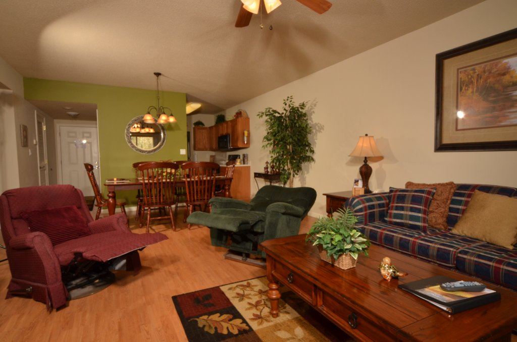 Photo of a Pigeon Forge Condo named Cedar Lodge 204 - This is the second photo in the set.