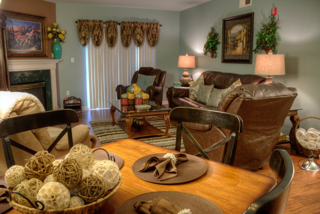 Photo of a Pigeon Forge Condo named Whispering Pines 312 - This is the second photo in the set.