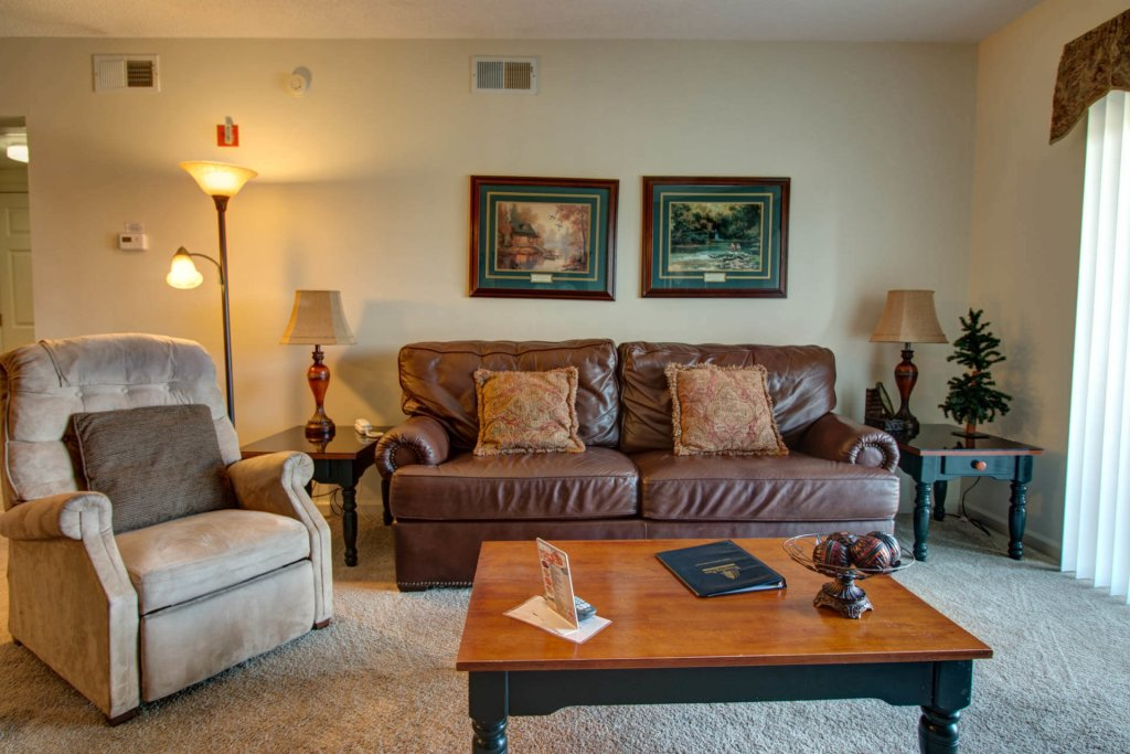 Photo of a Pigeon Forge Condo named Whispering Pines 214 - This is the second photo in the set.