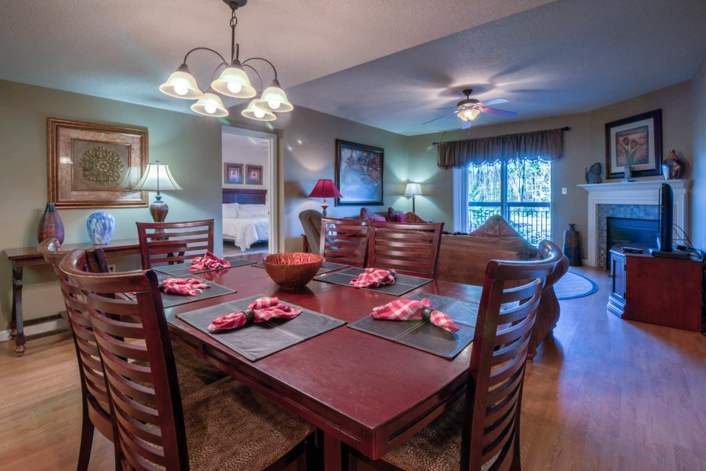 Photo of a Pigeon Forge Condo named Cedar Lodge 201 - This is the fifth photo in the set.