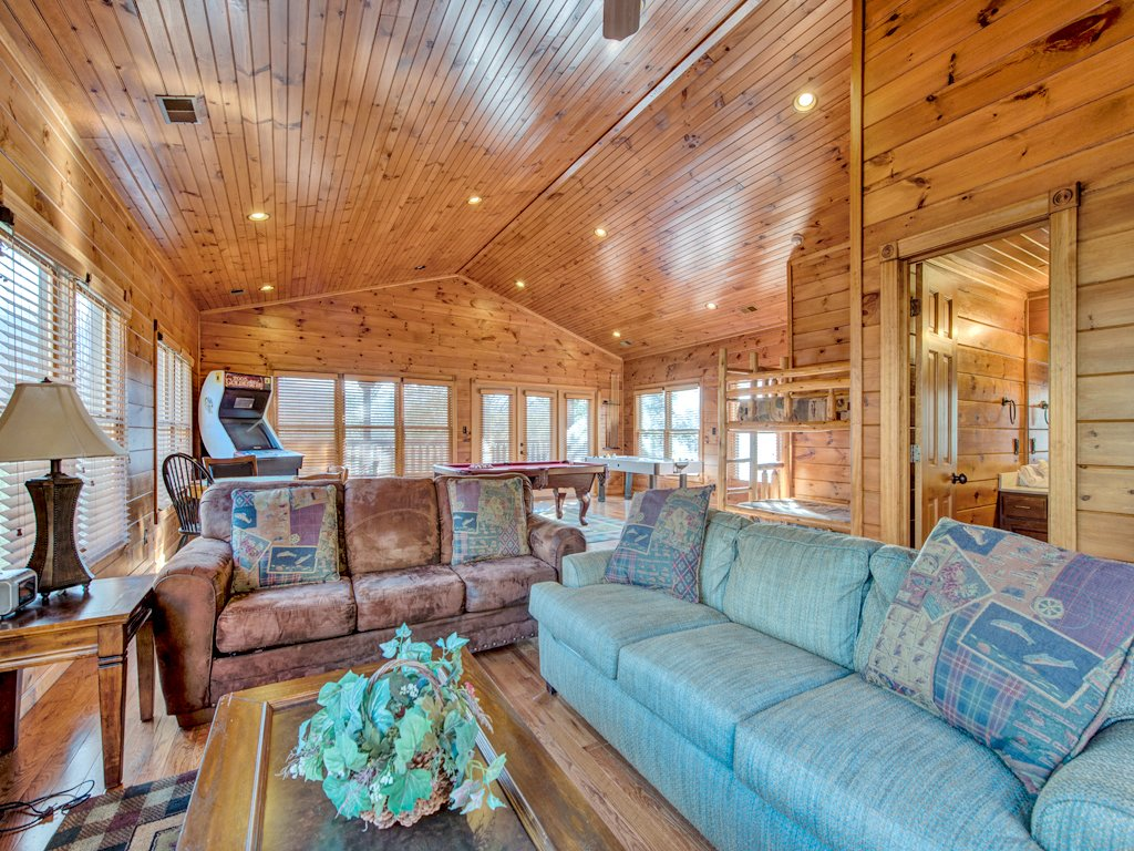 Photo of a Gatlinburg Cabin named Gatlinburg Majesty - This is the twenty-first photo in the set.