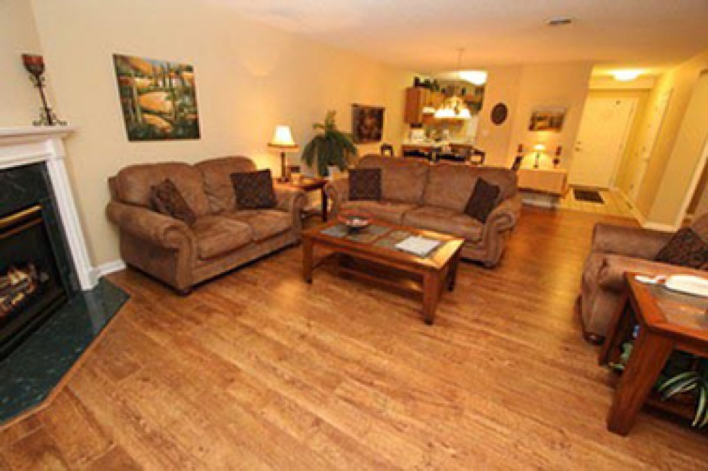 Photo of a Pigeon Forge Condo named Whispering Pines 252 - This is the second photo in the set.