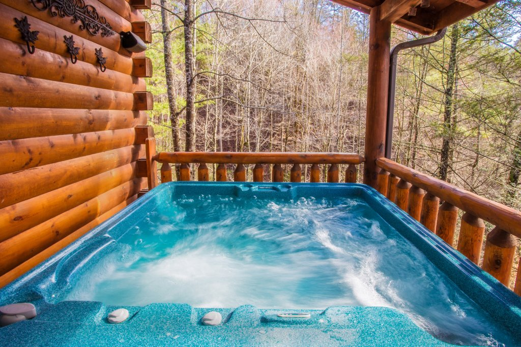 Photo of a Pigeon Forge Cabin named Our Secret Place - This is the second photo in the set.