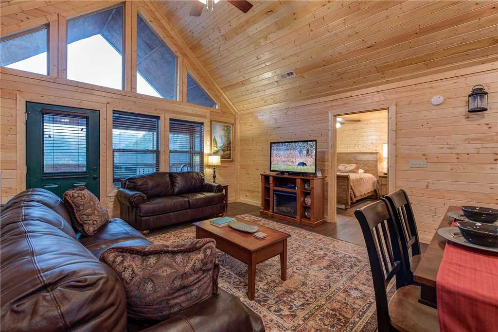 Photo of a Pigeon Forge Cabin named Emily's Hideaway - This is the first photo in the set.