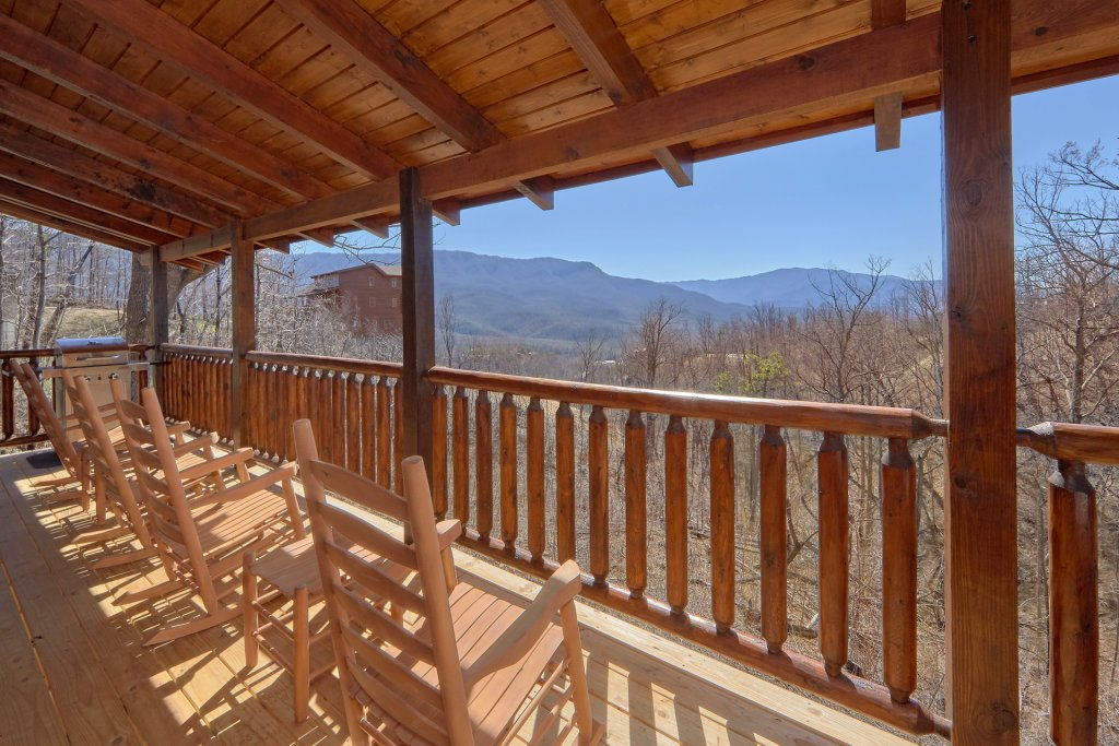 Photo of a Gatlinburg Cabin named Luxury, Views And Theater Cabin - This is the first photo in the set.