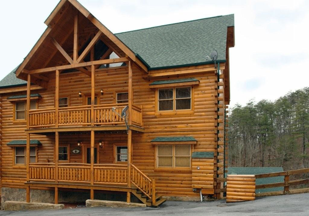 Photo of a Pigeon Forge Cabin named Big Bear Cinema #510 - This is the eleventh photo in the set.