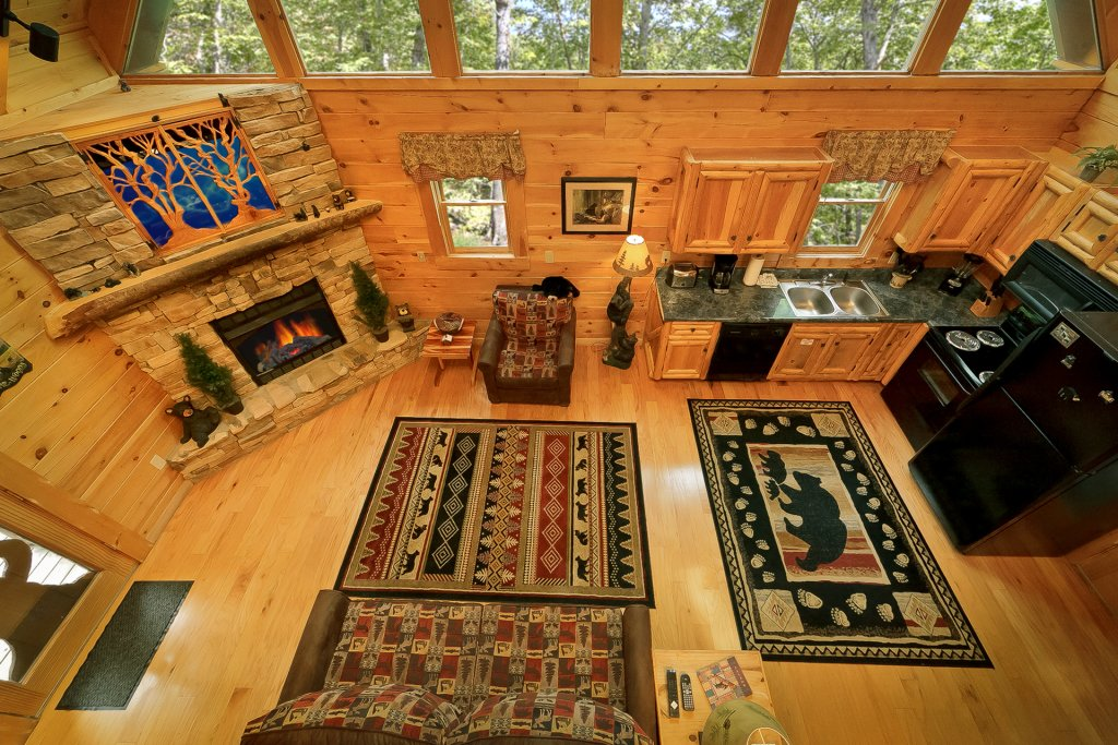 Photo of a Gatlinburg Cabin named The Treehouse #1708 - This is the fourth photo in the set.