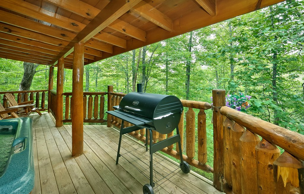 Photo of a Gatlinburg Cabin named The Treehouse #1708 - This is the fifth photo in the set.
