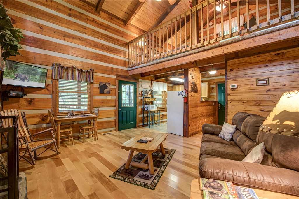Photo of a Gatlinburg Cabin named Little Bear Hideaway - This is the first photo in the set.
