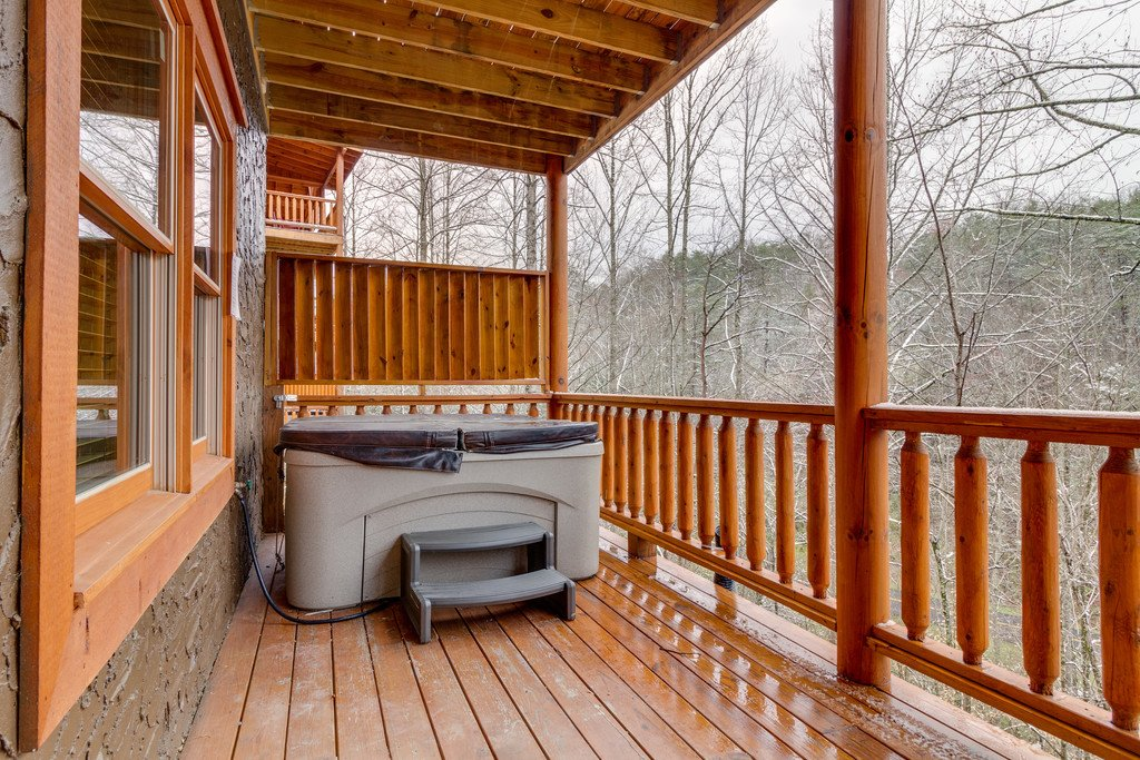 Photo of a Pigeon Forge Cabin named Beary Dee-lightful - This is the fifty-third photo in the set.