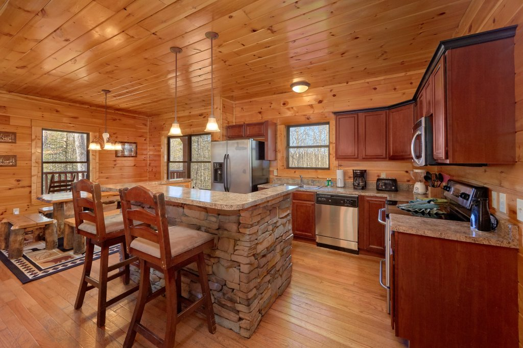 Photo of a Gatlinburg Cabin named A Smoky Hideaway - This is the forty-first photo in the set.