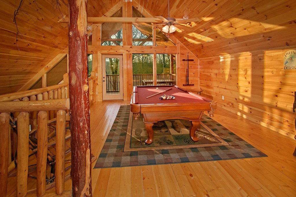 Photo of a Gatlinburg Cabin named Basswood Lodge - This is the ninth photo in the set.