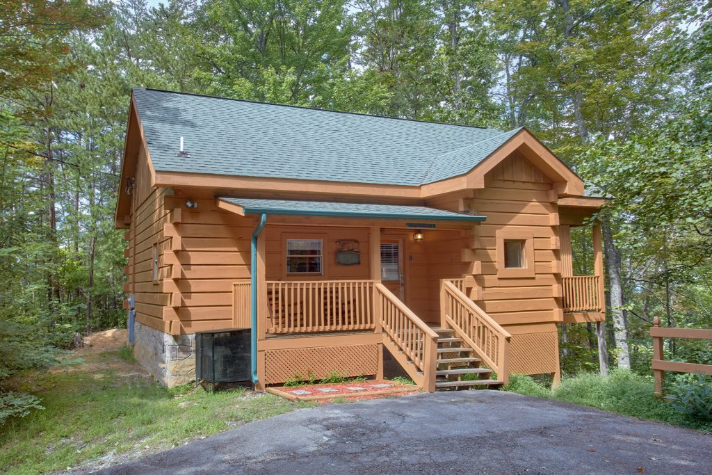 Photo of a Pigeon Forge Cabin named All Tucked Away 114 - This is the first photo in the set.