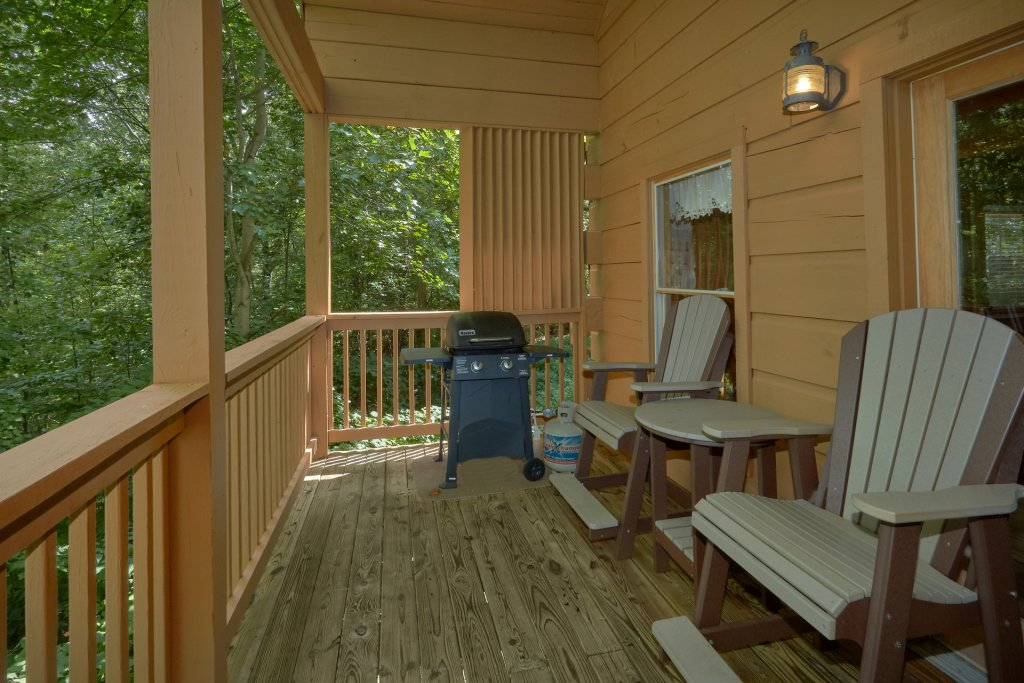 Photo of a Pigeon Forge Cabin named All Tucked Away 114 - This is the fifth photo in the set.