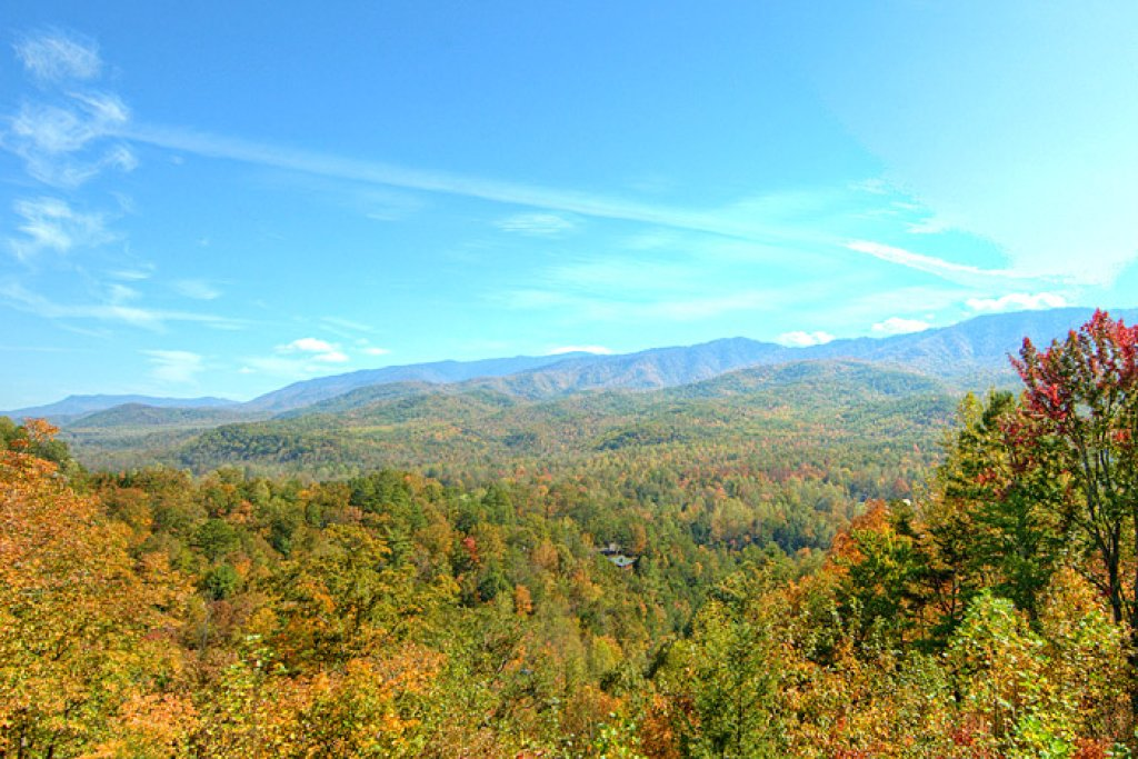 Photo of a Pigeon Forge Cabin named King's View - This is the third photo in the set.