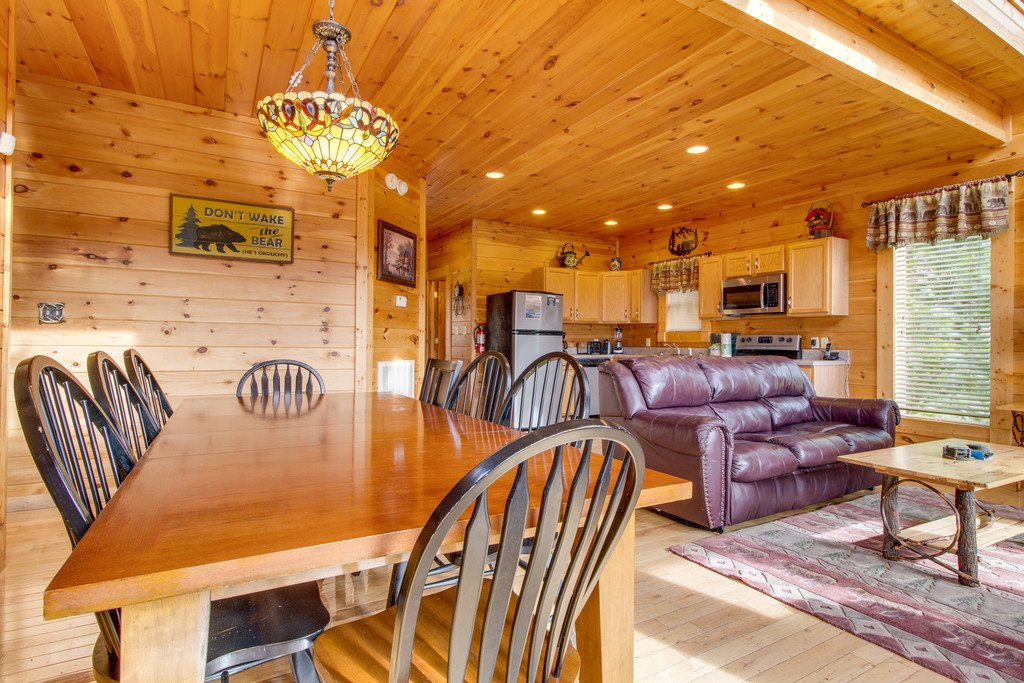 Photo of a Pigeon Forge Cabin named Panoramic Point - This is the fourth photo in the set.