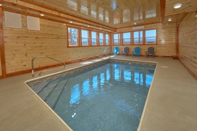 Escape To The Mountains - Private Heated Indoor Pool And Theater Room!