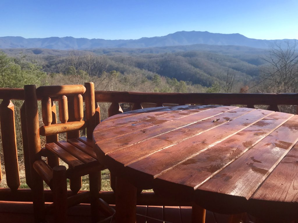 Photo of a Pigeon Forge Cabin named Grandpa Bear's View #233 - This is the third photo in the set.
