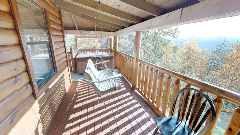 Photo of a Pigeon Forge Cabin named Grandpa Bear's View #233 - This is the eleventh photo in the set.