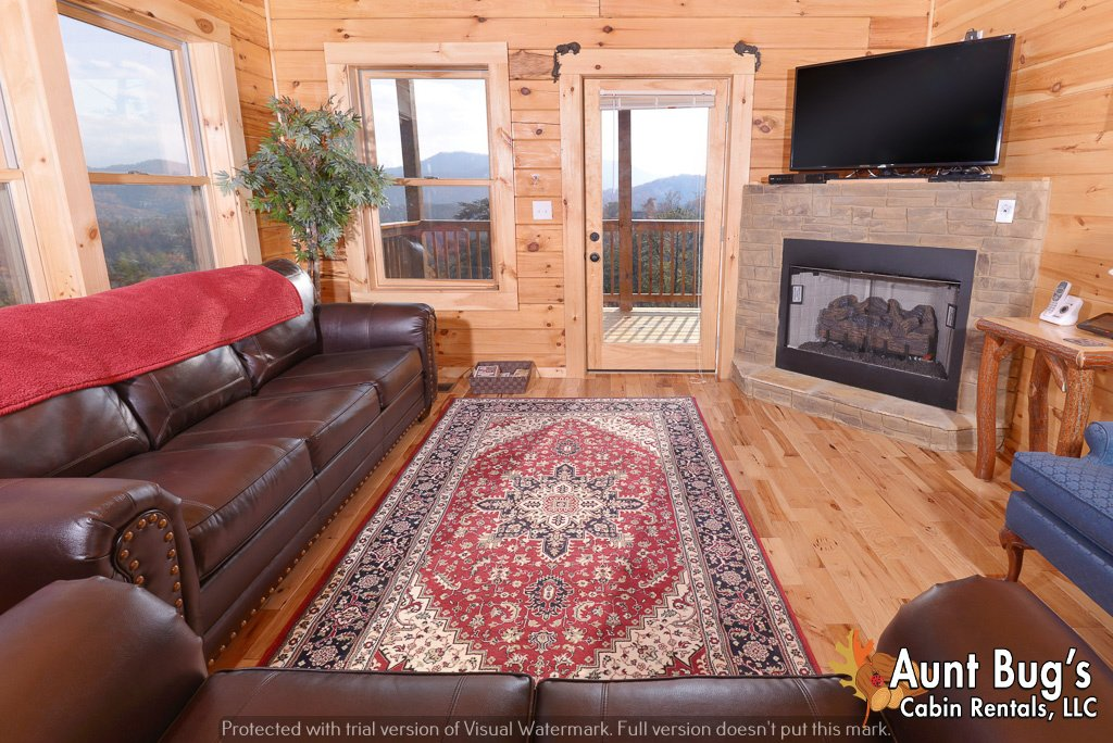 Photo of a Pigeon Forge Cabin named A View To Remember - 204 - This is the fortieth photo in the set.