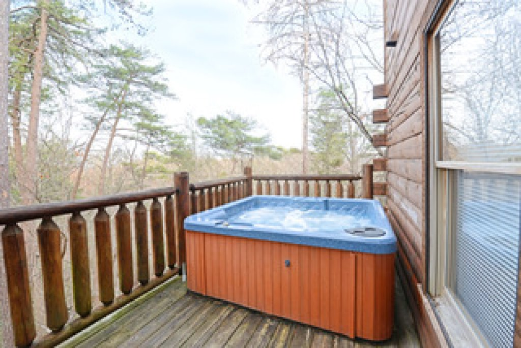 Photo of a Gatlinburg Cabin named Mountain Paradise - 295 - This is the second photo in the set.