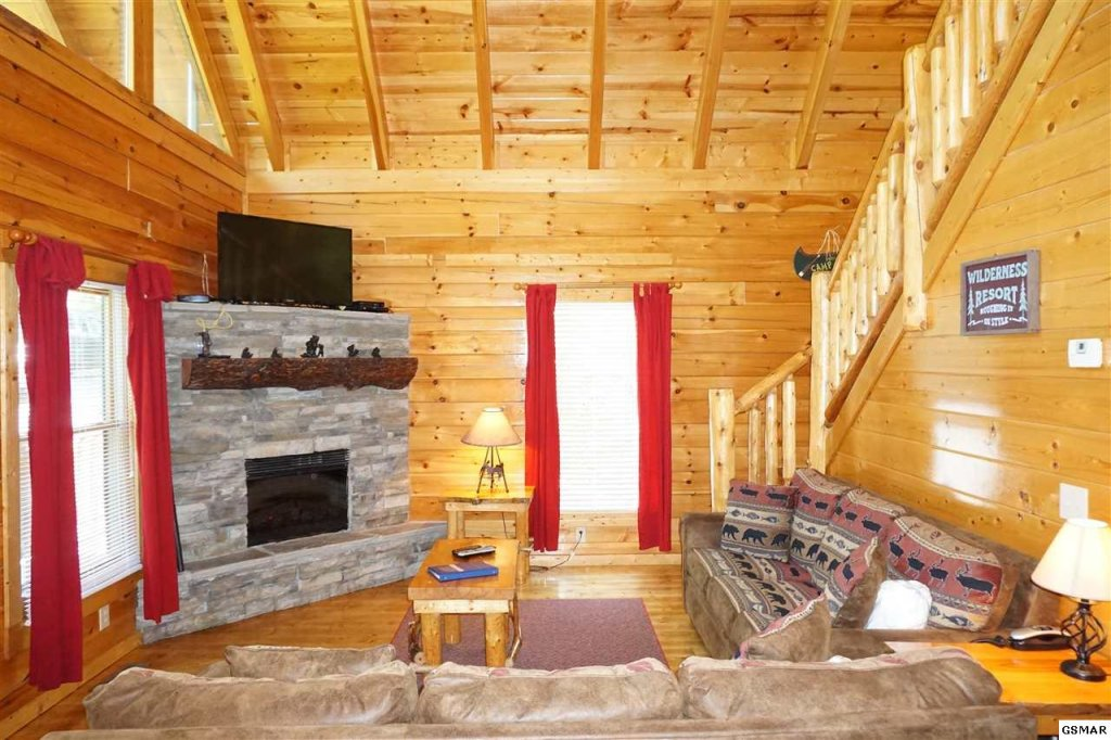 Photo of a Gatlinburg Cabin named Mountain Paradise - 295 - This is the thirteenth photo in the set.
