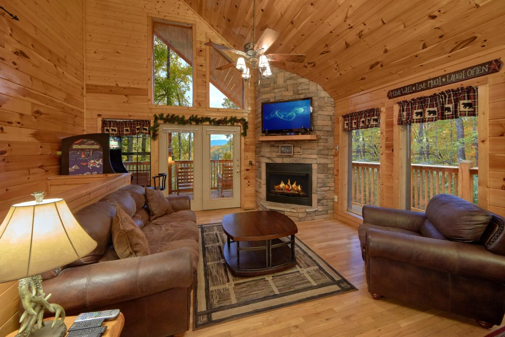 Photo of a Pigeon Forge Cabin named Tranquility Den - 210 - This is the fourth photo in the set.